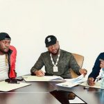 Davido signs new artiste, Deinde, to his DMW record label